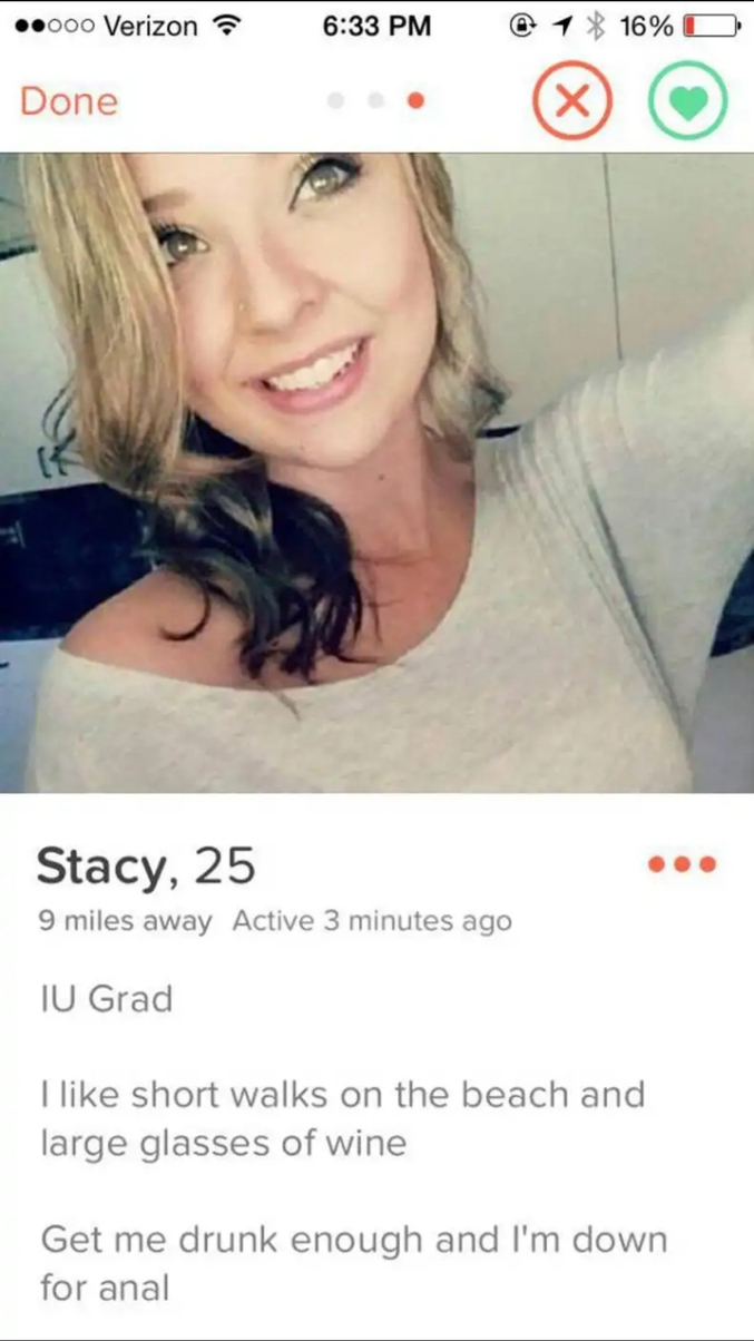 Stacy a choisi l'option offensive...