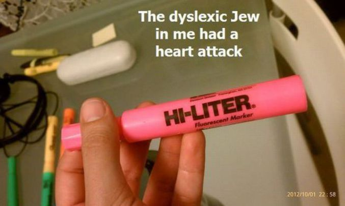 .. non dyslexiques.