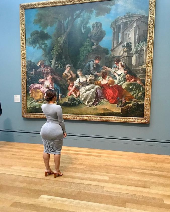 Cette toile ! Quelle beauté ! On en reste sur le c.. !