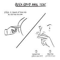 Covid 19, le test chinois