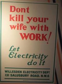 Ne tuez pas votre épouse au travail, laissez l'électricité faire çà !