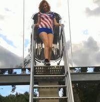 Une chute sexy ?
