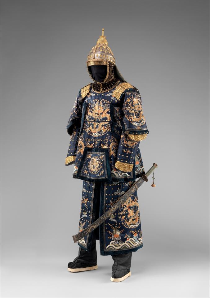 Chine, vers 1700 (une pièce miraculée du grand nettoyage culturel réalisé par les communistes après la révolution).