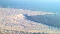 Influence d'une montagne sur la masse nuageuse