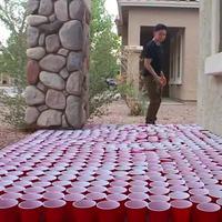 Pour les débutants au bière-pong