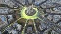 COP21 : la Place de l'Etoile (Paris) devient la 'Place du Soleil du Triomple'