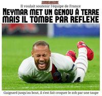 Il voulait soutenir l'équipe de France