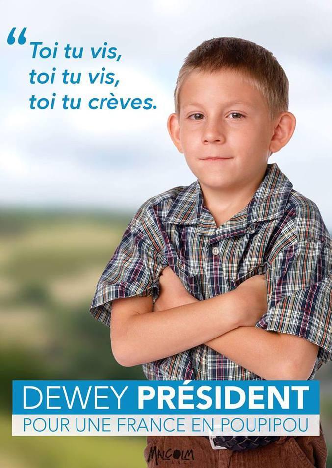 Votez juste, votez Dewey