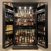 Cave à whisky et bourbon