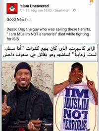 Je ne suis pas un terroriste