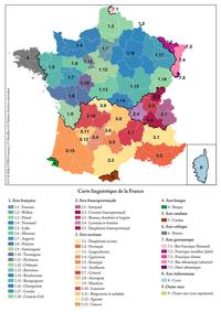 Carte linguistique de la France