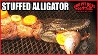 Recette d'alligator farci