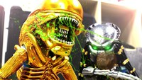 Alien VS Predator en Stop Motion