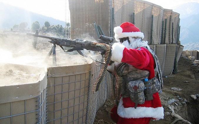 Noël par les muricains.