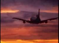 Un avion qui vole