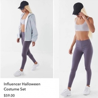 Costume d'influenceur