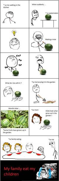Une histoire de pastèque