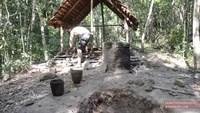 construire une maison avec tuiles sans outil modernes !