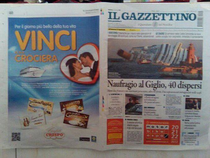 Le maquettiste de la Redoute a retrouvé un emploi dans un quotidien Italien.