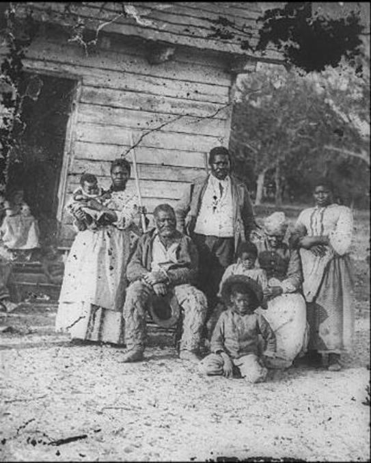 La case de l'oncle Tom, milieu du XIXème siècle, toussa, toussa...