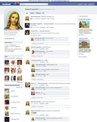 La page FaceBook de JC