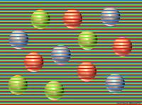 Toutes les boules sont de la même couleur