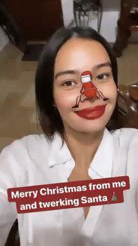 Même le père Noël sait twerker...