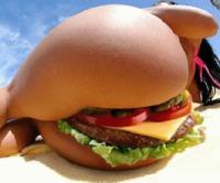 Burger appétissant