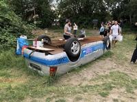 Recycler une voiture de police