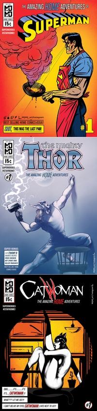 Les Comics Heros pendant le confinement