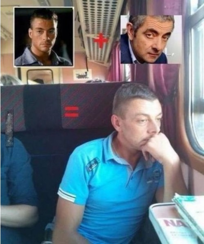 Celui de JCVD et de Mr Bean.