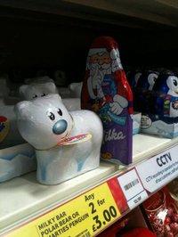 Quel coquin, ce petit Papa Noël !