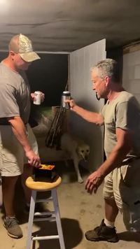 2 men, 2 beer