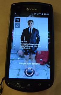 Nicolas Sarkozy annonce sa candidature à l'élection présidentielle
