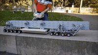 Camion poseur de tablier