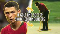 Si on échangeait les commentateurs de golf et de foot