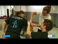Cours de self-défense pour personnes en fauteuil roulant