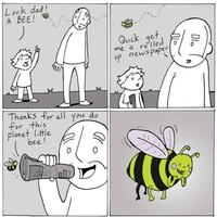 Une histoire d'abeille