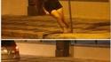Pole dance improvisée