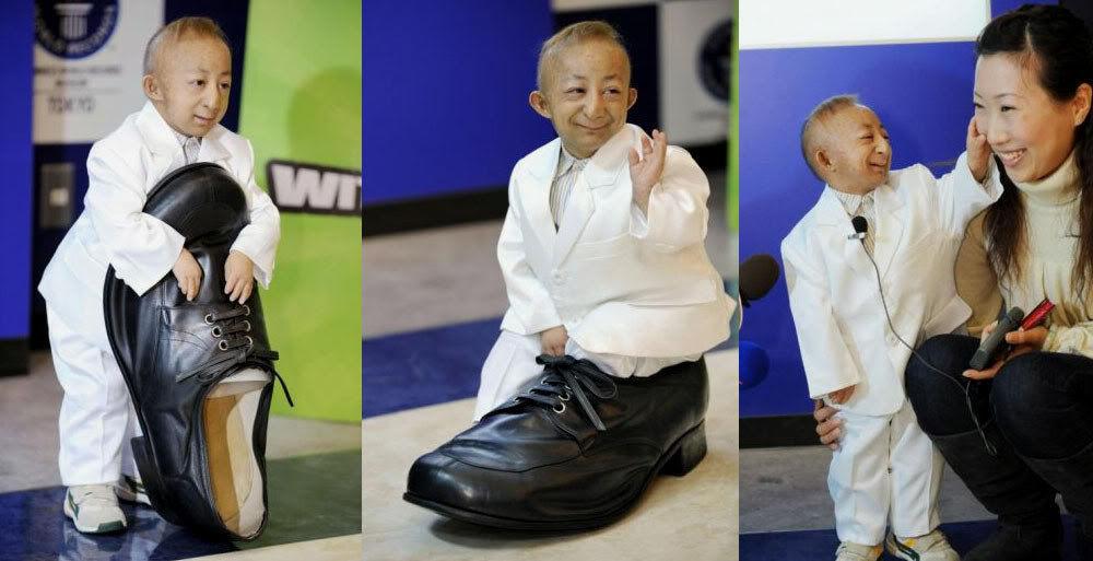 L 39 homme le plus petit au monde - L homme qui lit le plus vite au monde ...