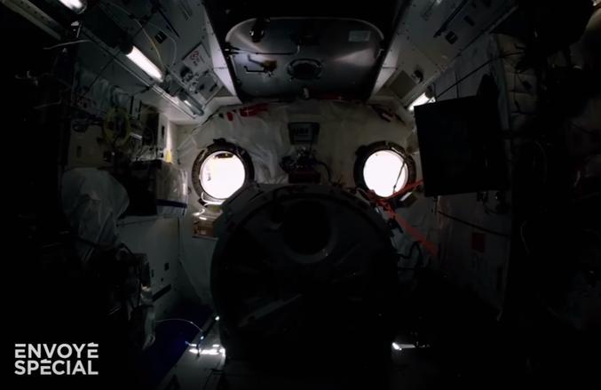 L'ISP même dans l'ISS !
