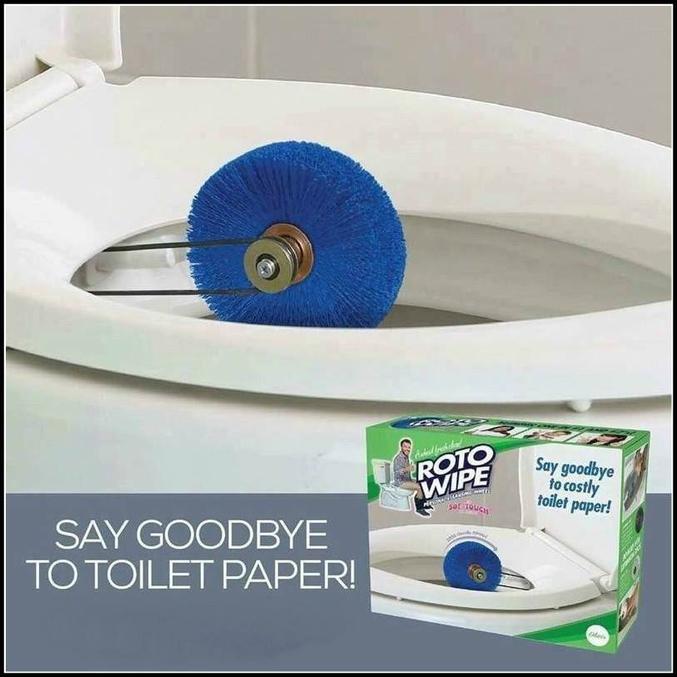 Soyez tendance, dites adieu au papier toilette !