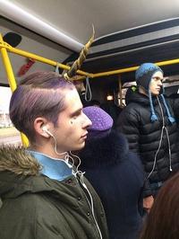 Mello dans le métro