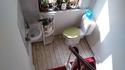 Toilettes dans un airBnb