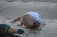 Bébé découvre la vie
