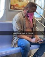 Pendant ce temps là dans le métro de New York