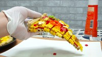 Faire une pizza ... en LEGO
