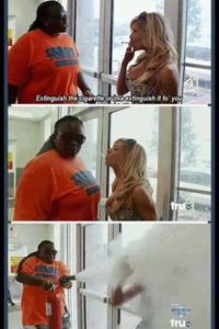 Eteignez votre cigarette, Madame