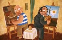 Comment Picasso et Dali voient un oeuf