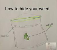 Comment cacher de la beuh